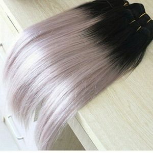 20 inch human hair ombre weft  Extensions